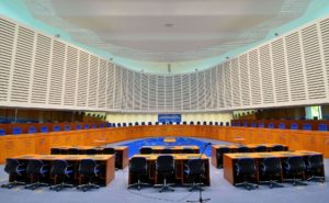 Courtroom - European Court of Human Rights