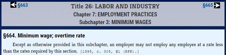 First Excerpt from Maine Revised Statutes, Title 26, Chapter 7, Subchapter 3
