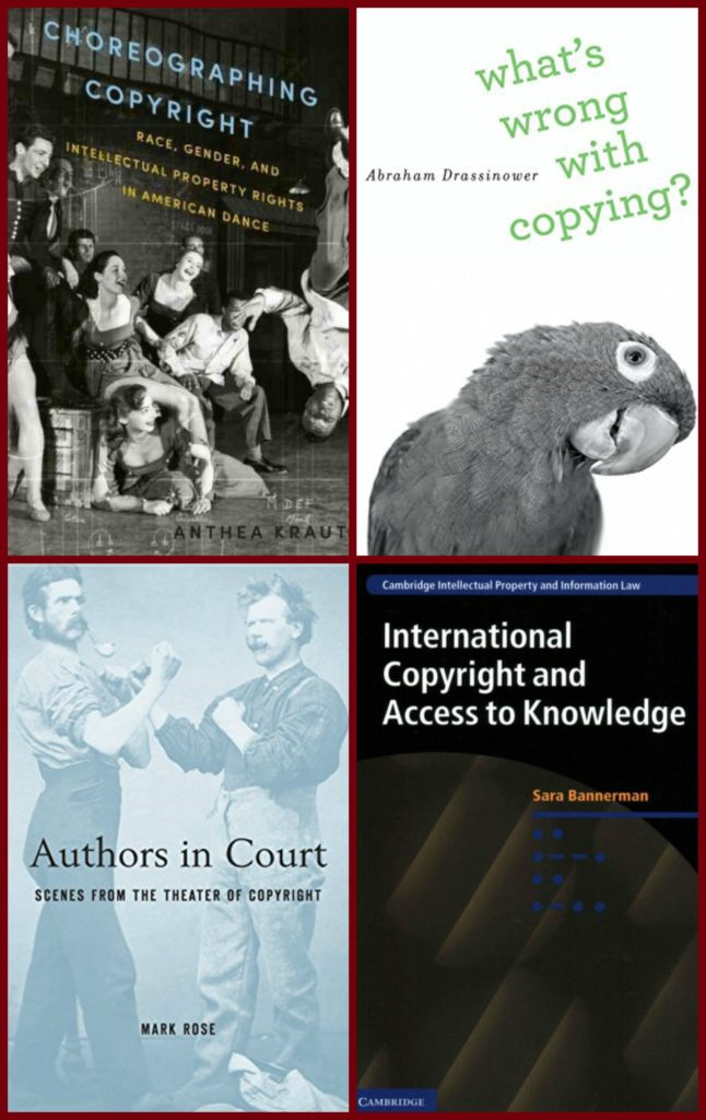 covers of books on copyright